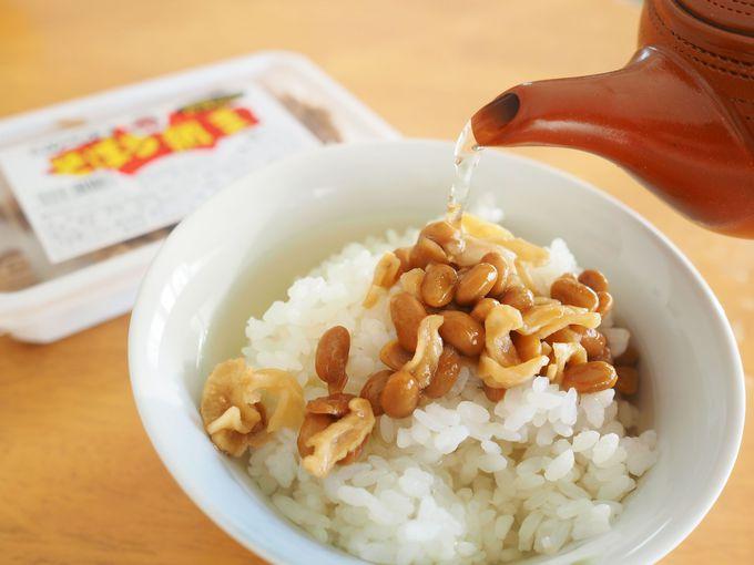 茨城では、そぼろ納豆がブレイク中!