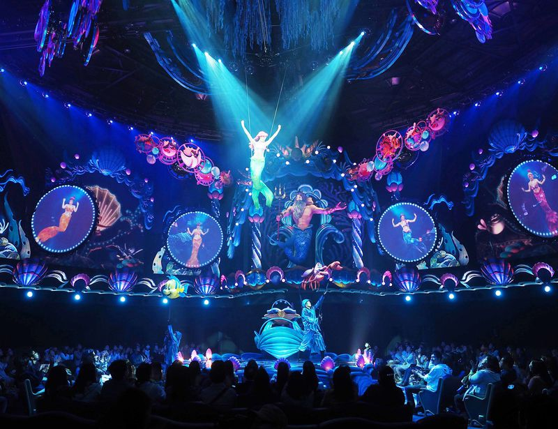 キング・トリトンのコンサート登場!東京ディズニーシーの凄すぎる新ショーの見所は?