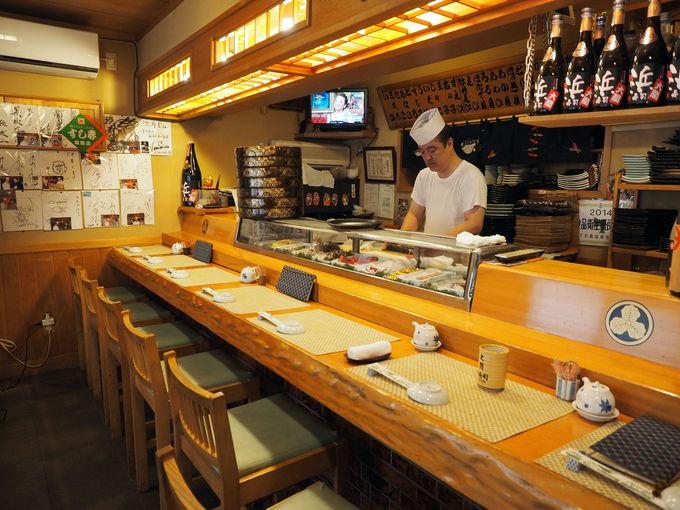 1年中、大間のマグロがお値打ちに食べられる「浜寿司」