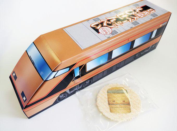 国産白海老を使用!「日光詣スペーシア」デビュー記念のお菓子
