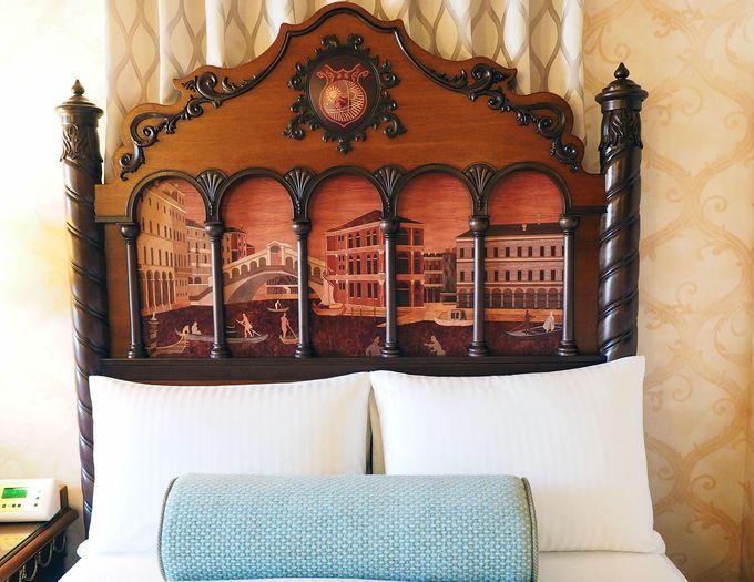 イタリアの町並みがそのまま客室に『ヴェネツィア・サイド』