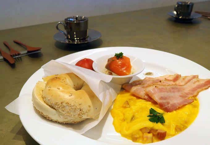 迷ったらこれ!ベーシックなマンハッタンの朝食プレート