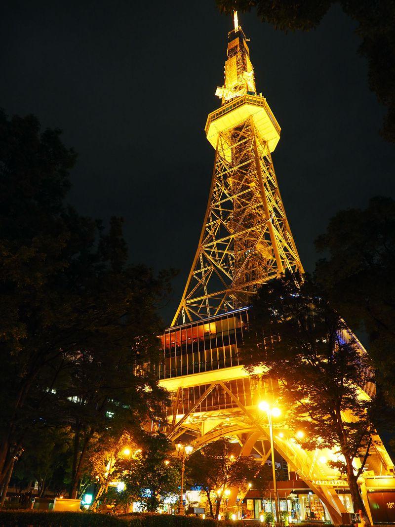 名古屋テレビ塔は、日本最古の電波塔