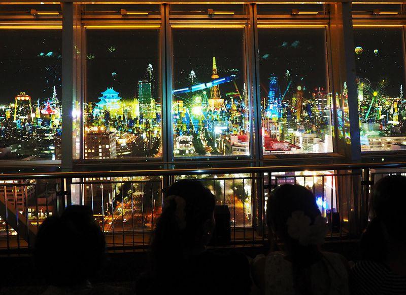 未来都市が現る!名古屋テレビ塔が放つ神秘のプロジェクションマッピングとは?