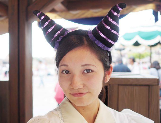 【2位】プチ仮装に最適!マレフィセントになれるカチューシャ