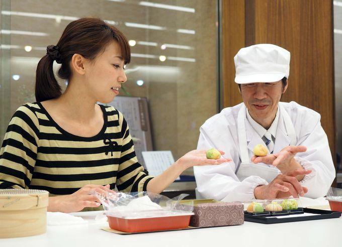 職人気分で金沢伝統の和菓子を楽しもう