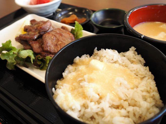 お風呂上がりに食べておきたい、高尾山名物とろろ料理