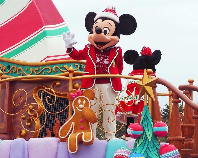 初お披露目の新ショー!ディズニー・クリスマス・ストーリーズ