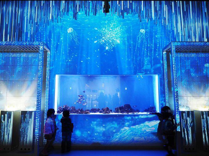 ようこそ、氷の世界へ!エントランスは氷の万華鏡をイメージ