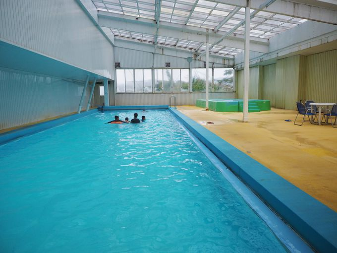 1年中無料で入れる温泉プール