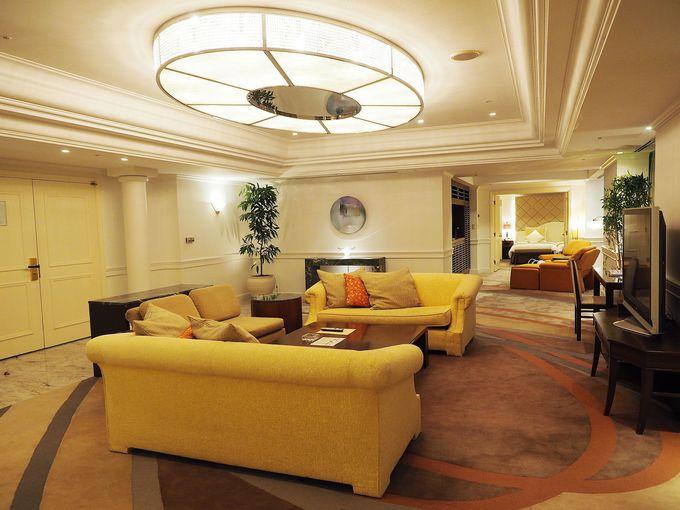 海外ドラマみたい!高級感溢れるホテル最上級のロイヤルスィート