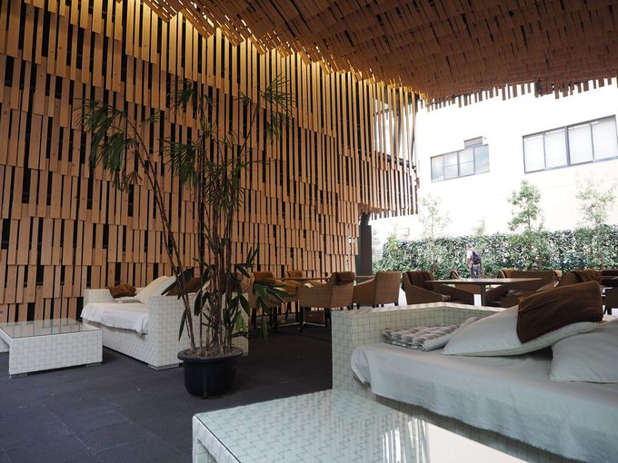 建築家 隈研吾氏が設計したおしゃれなデザインも魅力