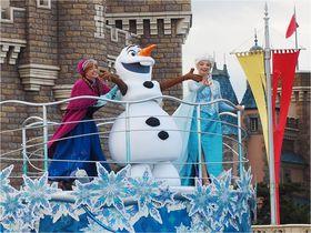 東京ディズニーランドがアナ雪に染まる!アナとエルサのフローズンファンタジー