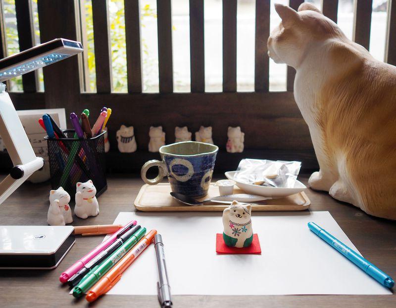 世界に1つだけの招き猫!谷中堂&カフェ猫衛門が猫好きの間で秘かに人気