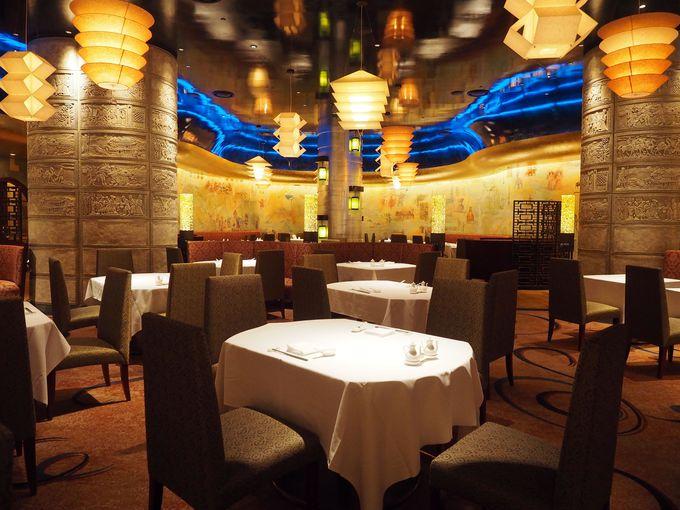 優雅で重厚な異空間。中国料理『シルクロードガーデン』