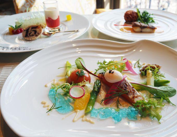 地中海料理『オチェーアノ』のアニバーサリーランチコース