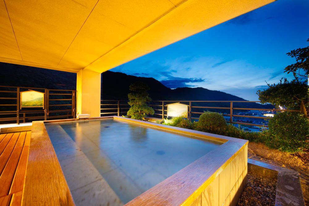『飛天の館』宿泊者専用の絶景露天風呂