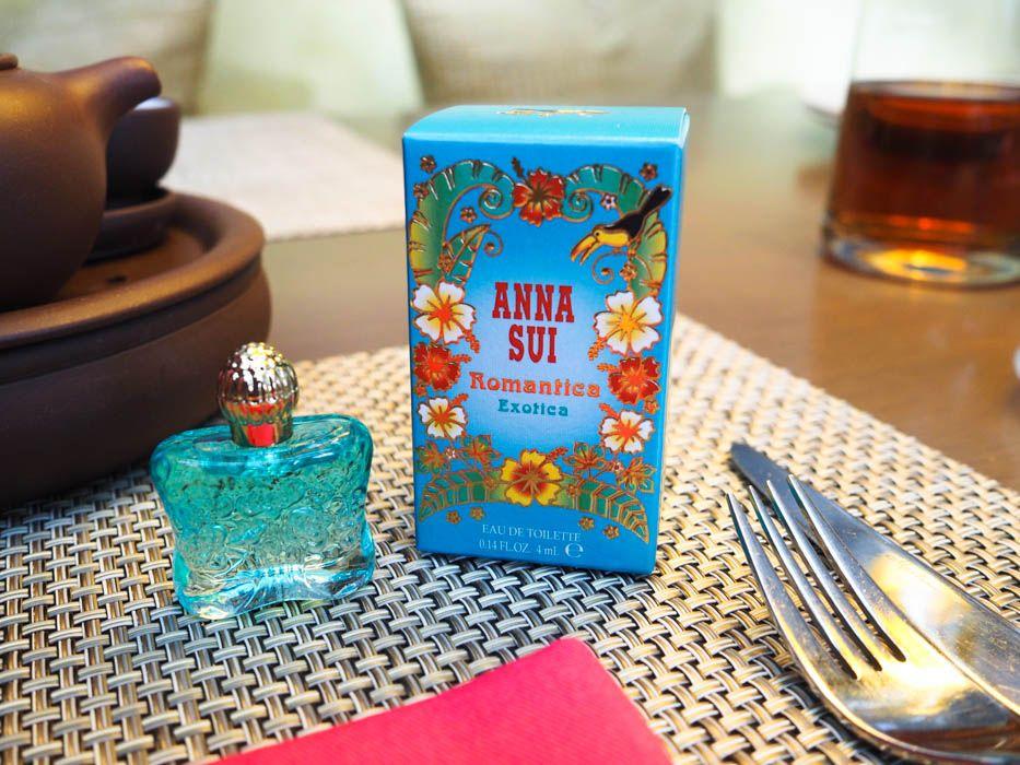 アナスイ新作の香水がお土産に