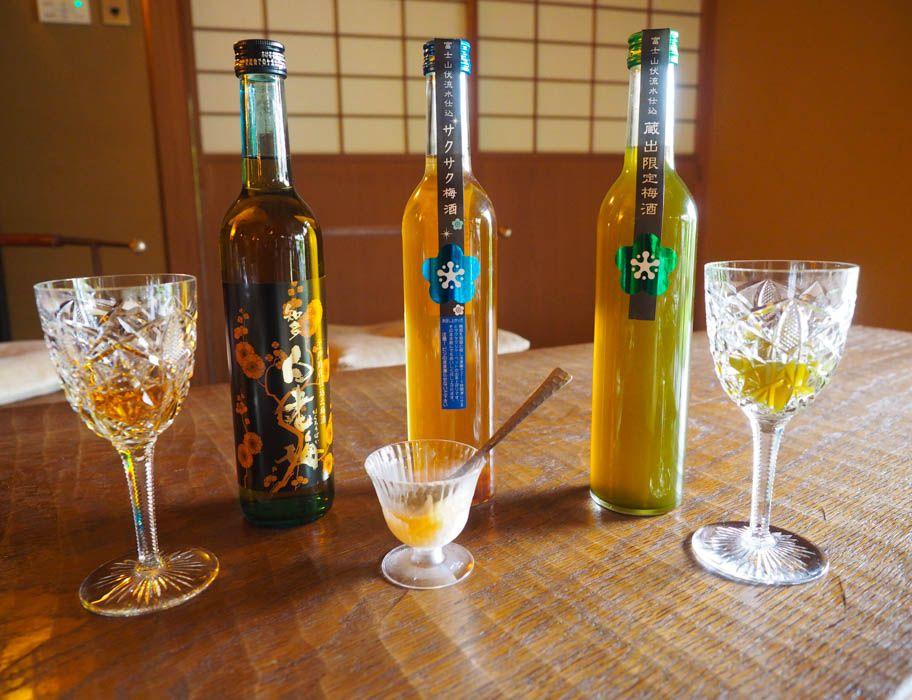 梅酒の飲み比べが無料。日本最古のレシピを再現した梅酒も!