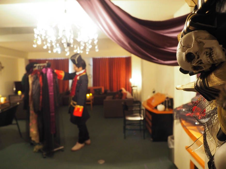 1日1組限定「THE Halloween Room」が新登場