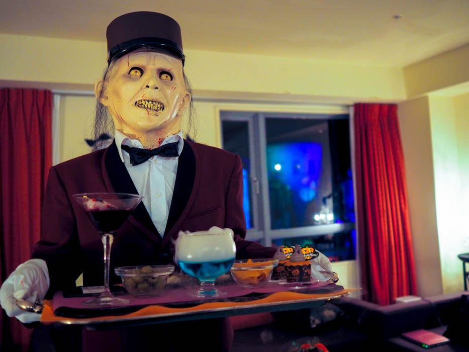 「THE Halloween Room」だけのスペシャルサービス