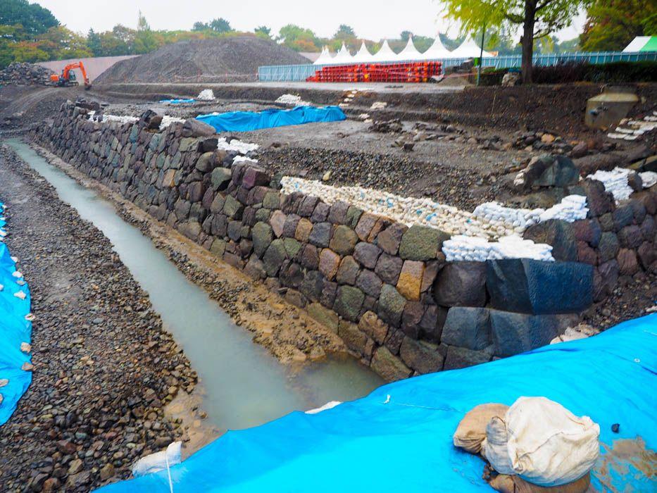 日本初!見える化された発掘調査の現場