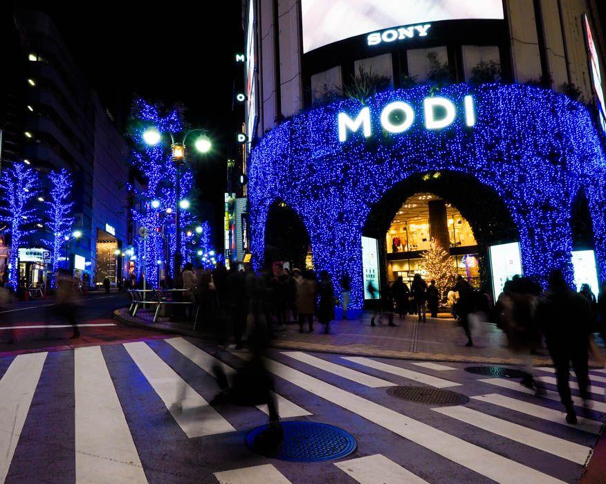 「青の洞窟 SHIBUYA」のスタートは渋谷モディから