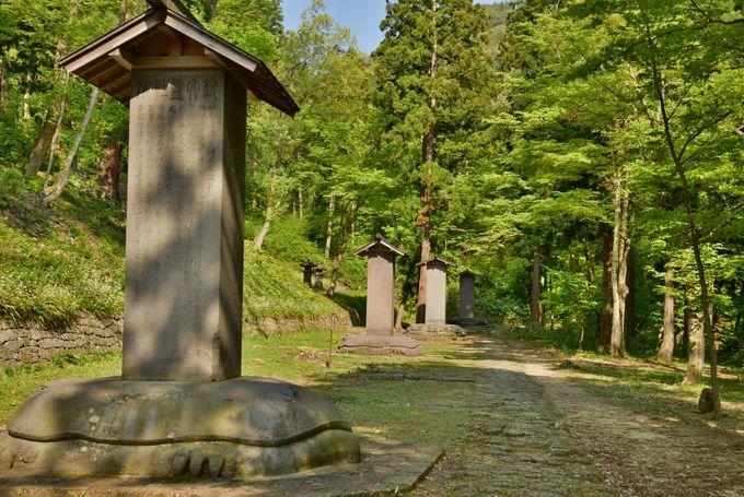 会津藩主の魂が鎮座する聖域。会津藩主松平家墓所「院内御廟」