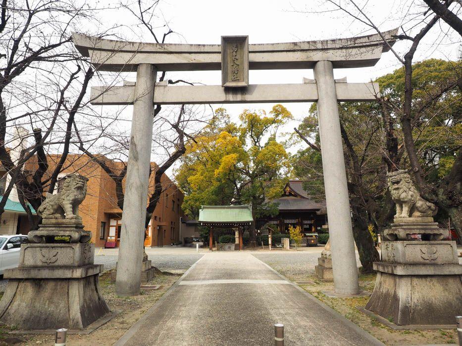 名古屋の繁華街、栄にひっそり佇むパワースポット