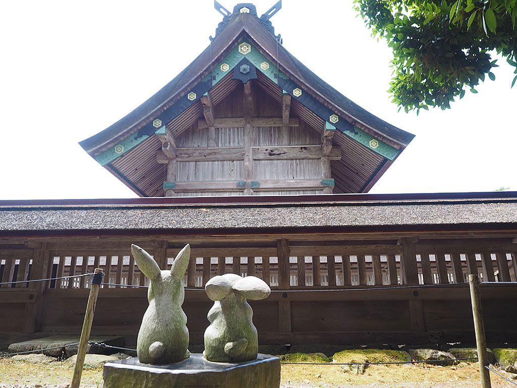 【その4〜6】鳥居の種類、拝殿の隠れた見どころ、大社のうさぎ