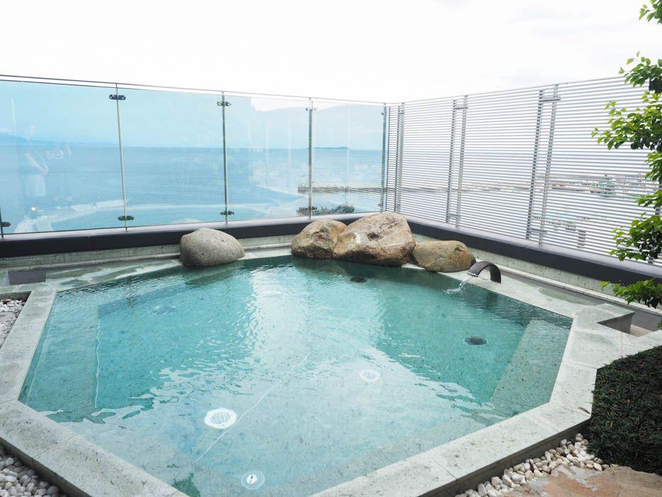 絶景!太平洋を望む2つのお風呂