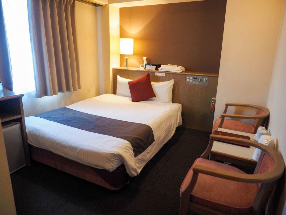 「ホテル心斎橋ライオンズロック」の客室は?