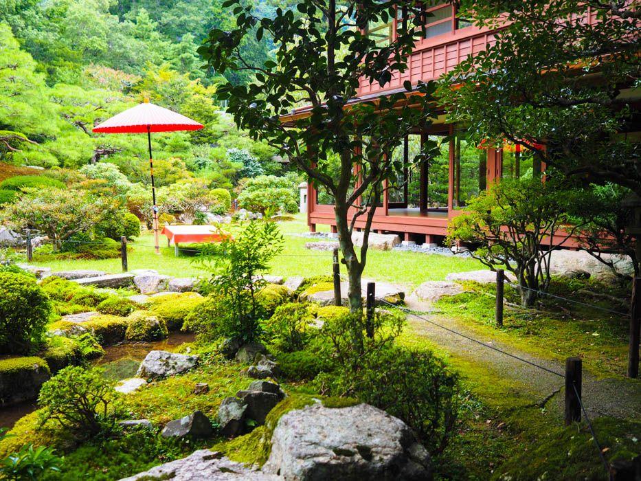 元里坊「旧竹林院」で癒しのティータイム