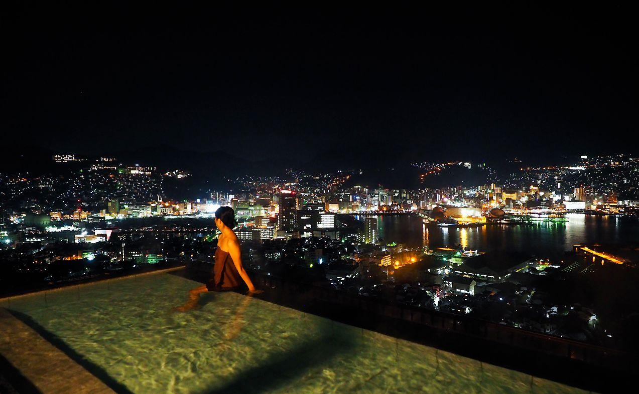大江戸温泉物語 長崎ホテル清風の絶景&グルメがすごいと評判! 女子2人が堪能してみたよ!