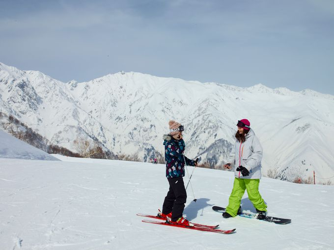 大型スキー乾燥室も完備、パウダースノーのゲレンデも近く!