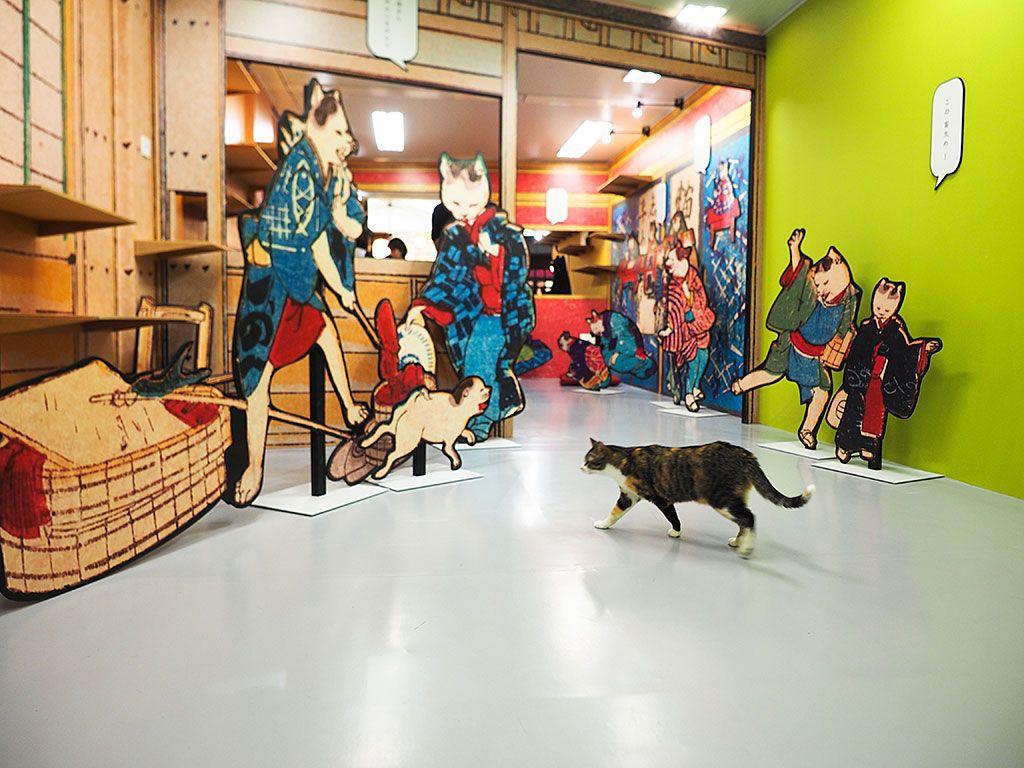 江戸と猫をテーマにした新発想のイベント「江戸ねこ茶屋」