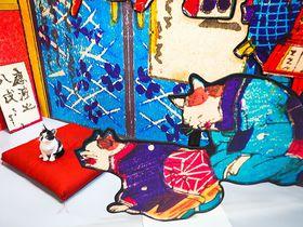 両国駅すぐ!江戸時代の2.5次元 猫カフェ「江戸ねこ茶屋」で癒しの夏