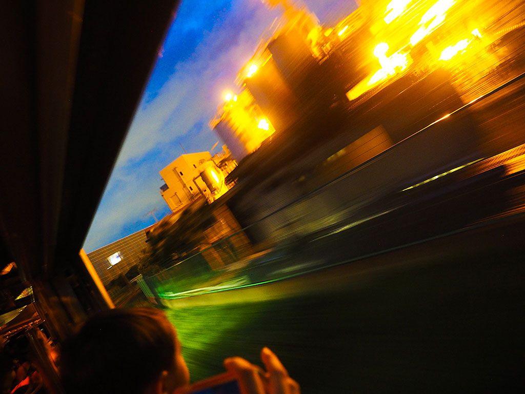五感を使って夜景電車を楽しもう