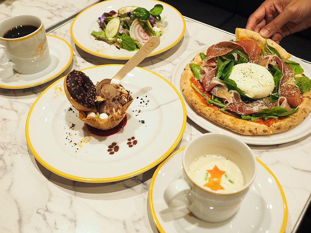 泊まらなくても楽しめるレストラン「PEANUTS DINER 神戸」