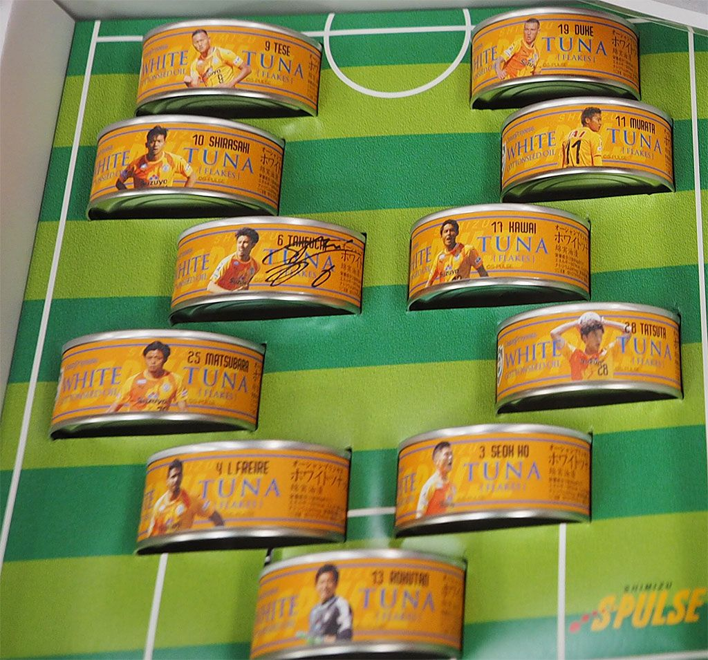 サッカー愛を詰め込んだ究極の缶詰