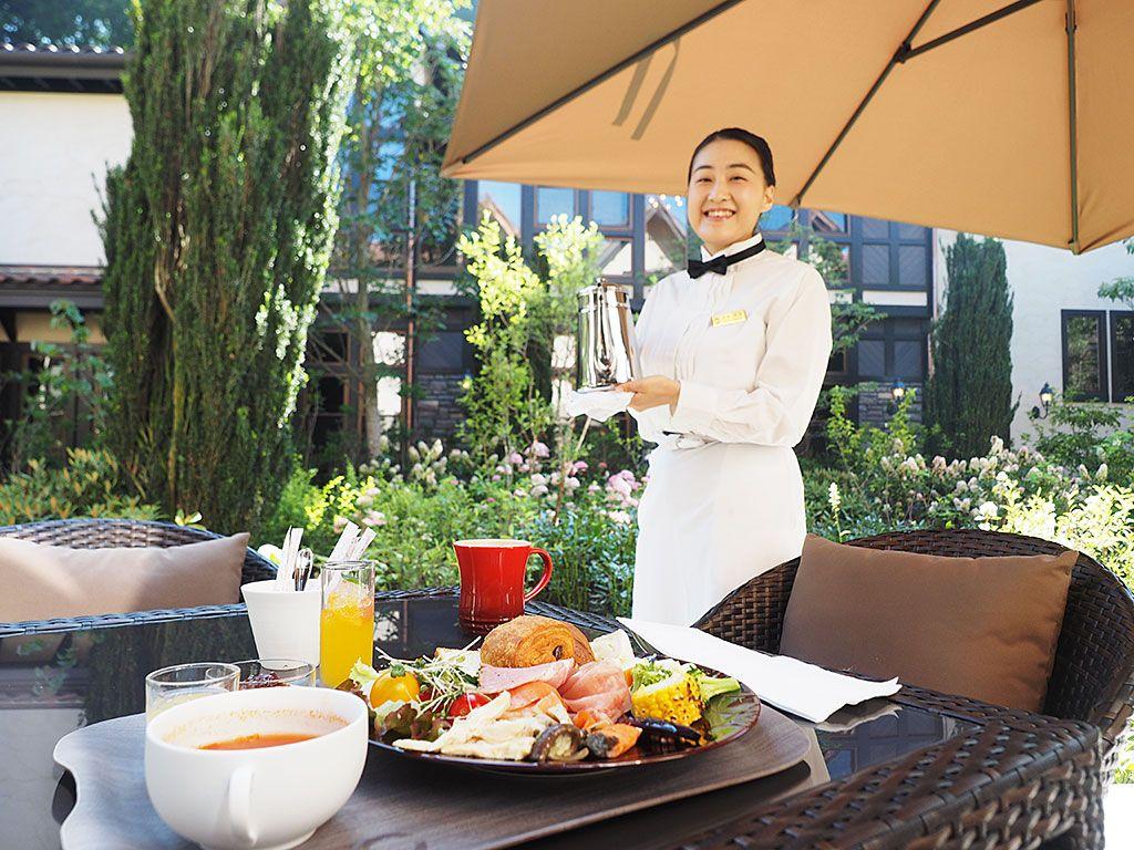 ミシュラン1つ星シェフが作る「軽井沢フレンチ」の朝食