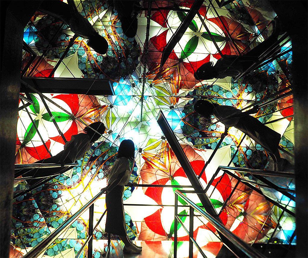 巨大万華鏡の楽しみ方