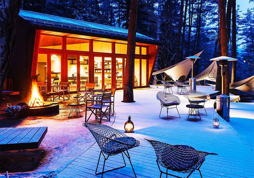 冬グランピングって、超楽しい!「星のや富士」でぬくぬく贅沢時間