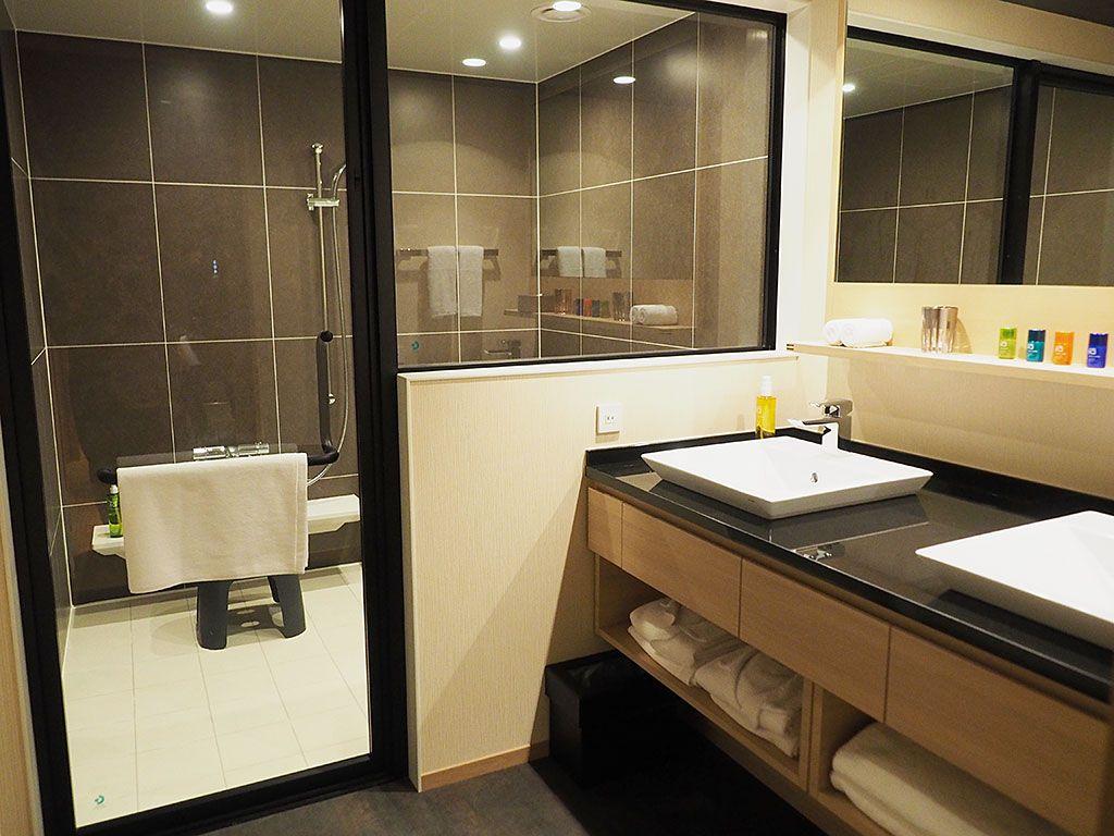 一番コンパクトでも25平米!広くて快適な客室