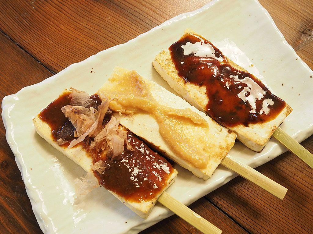 湧水に癒されたら、おいしい豆腐料理をどうぞ