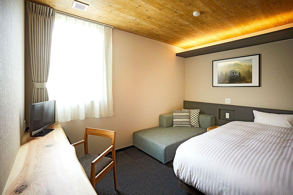 家造りのノウハウを凝縮した、快適な客室