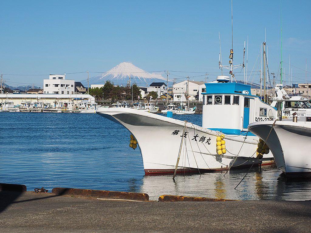 駿河湾&漁港&富士山が見渡せる、新感覚温泉