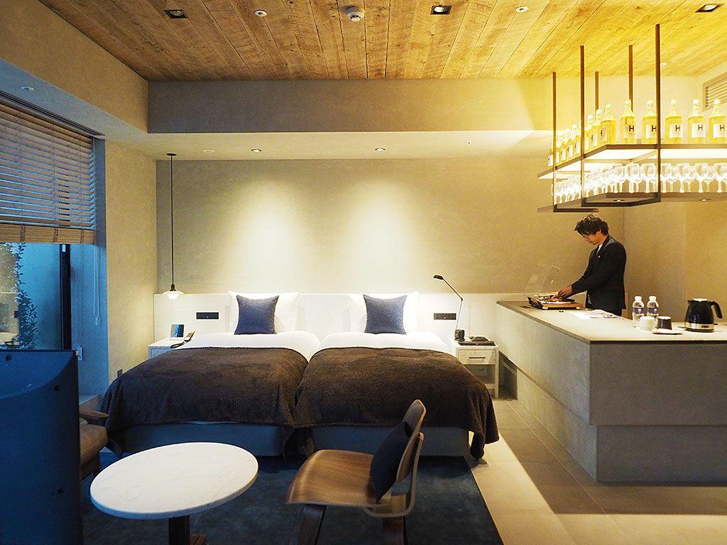 新発想の和モダン・テラス付き客室