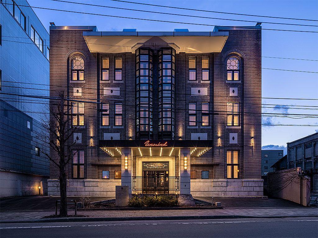 歴史的建造物がオシャレホテルに復活