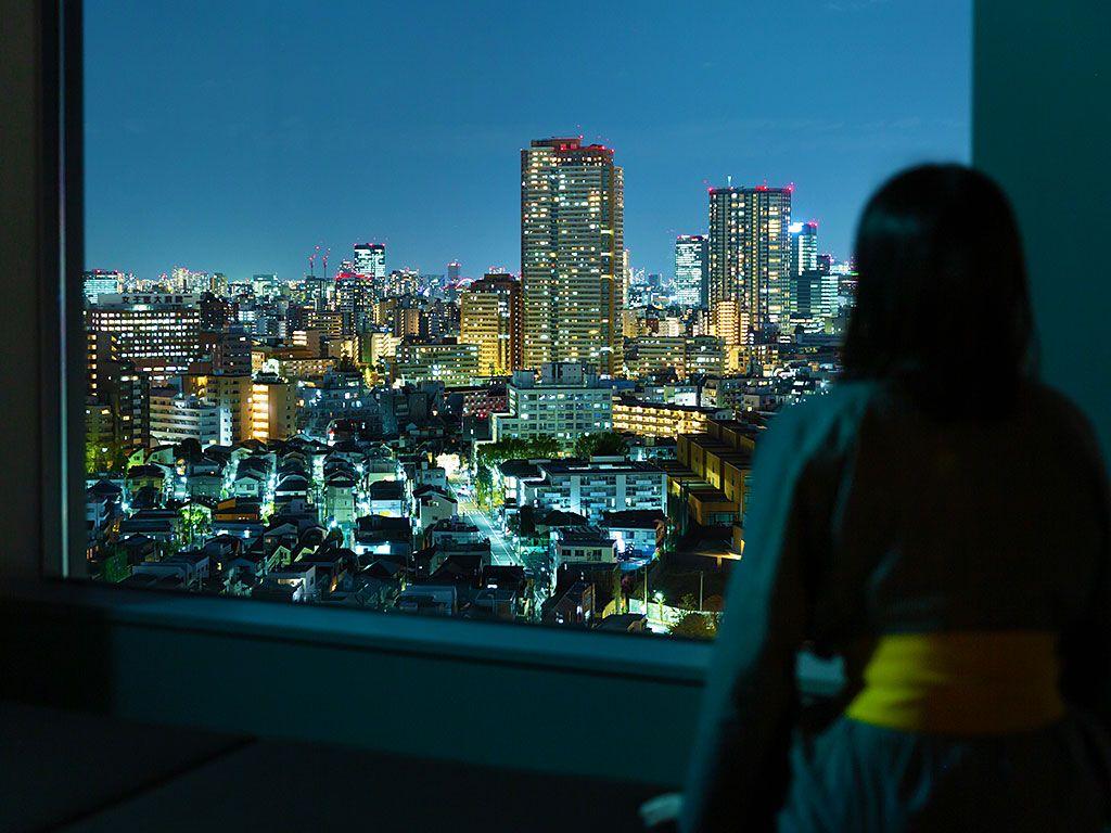 新宿の夜景も非日常体験の一つ